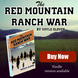 Western Novel Red Mountain Ranch War